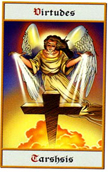 tarot angeles Virtud Tarshish