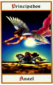 tarot angeles Principado Anael