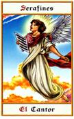 tarot angeles Serafín cantor