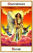tarot angeles Querubín Kerub