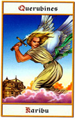 tarot angeles Querubin Karibu