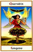 tarot angeles Querubín Longevo