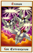 tarot angeles Tronos los extranjeros