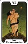 arcano del dia Los Enamorados