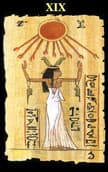 tarot egipcio El Sol