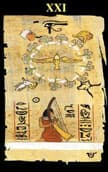 tarot egipcio El Mundo