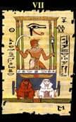 tarot egipcio El Carro