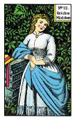 tarot gitano La señorita rica