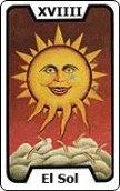 tarot del trabajo El Sol